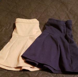 🔥3 for 15🔥Girls Uniform 2 Skirts Gap Kids
